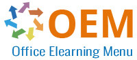 OEM Office Elearning Menu logo