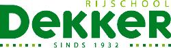 Rijschool Dekker logo